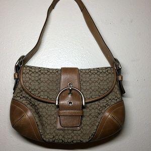 Coach Soho D04M-6818 Handbag Purse Leather Carry